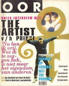 MAGAZINE-OOR-1996-nr-23-PRINCE-COVER-BUSH-EVAN-DANDO-JAMIROQUAI-NEDERPUNK