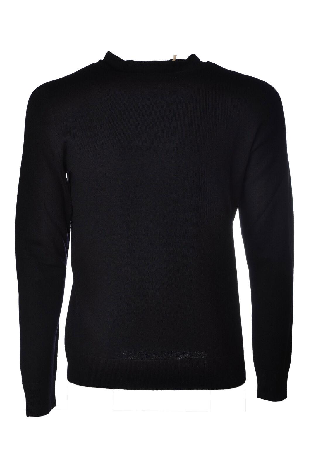 LA FILERIA - Knitwear-schweißers - Man - Blau - 4023808C191351