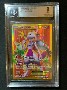 Mewtwo-EX-164-162-Secret-Rare-XY-Breakthrough-BGS-9-Mint-Pokemon-Card