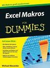 Excel Makros Programmieren Fur Dummies by Michael Alexander (Paperback, 2015)