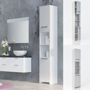 vicco armoire haute salle de bains meuble de salle de. Black Bedroom Furniture Sets. Home Design Ideas