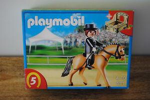 Boite-Playmobil-NEUVE-theme-cheval-equitation-ref-5111-jamais-ouverte