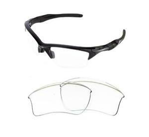 Half Jacket 2 0 >> Details About New Replacement Clear Xl Lens For Oakley Half Jacket 2 0 Sunglasses
