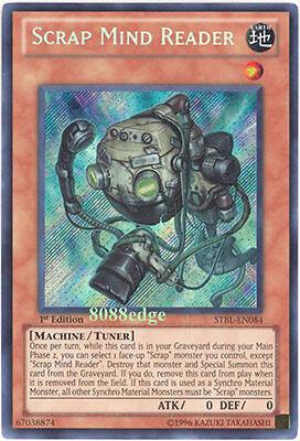 Scrap Mind Reader STBL-EN084 Secret Rare Yu-Gi-Oh Card 1st Edition New