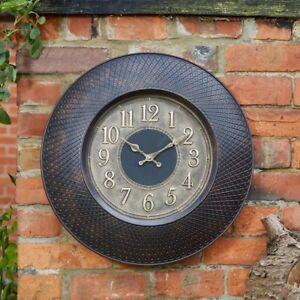 Aussen-Klassisch-Vintage-Design-Garten-Uhr-Grosser-Wand-Uhr-fuer-Garten-Innen