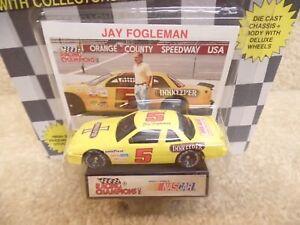 1991 Racing Champions 1:64 NASCAR Bobby Allison Motorsports Team Buick Regal a