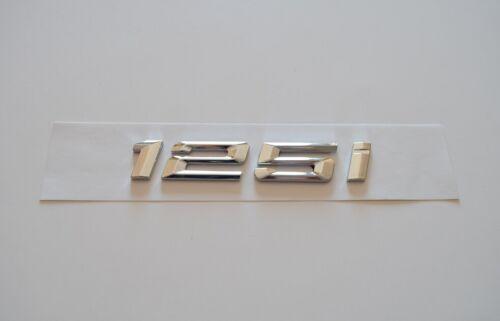 125i Schriftzug Typenschild Aufkleber für BMW Trunk Badge Nameplate