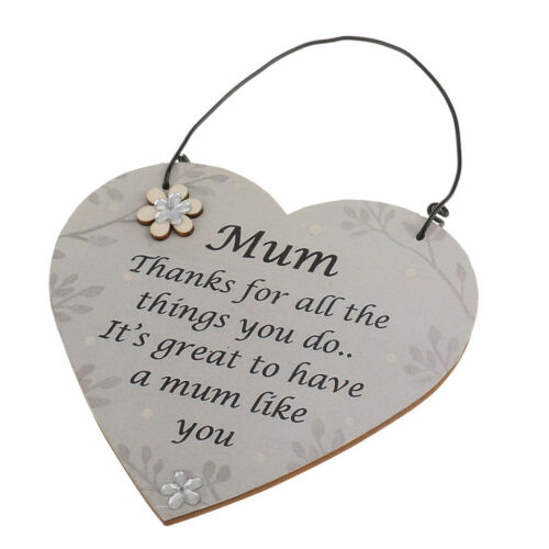 Personalised Mum Thanks for all the things you do Birthday Gift Plaque Signs