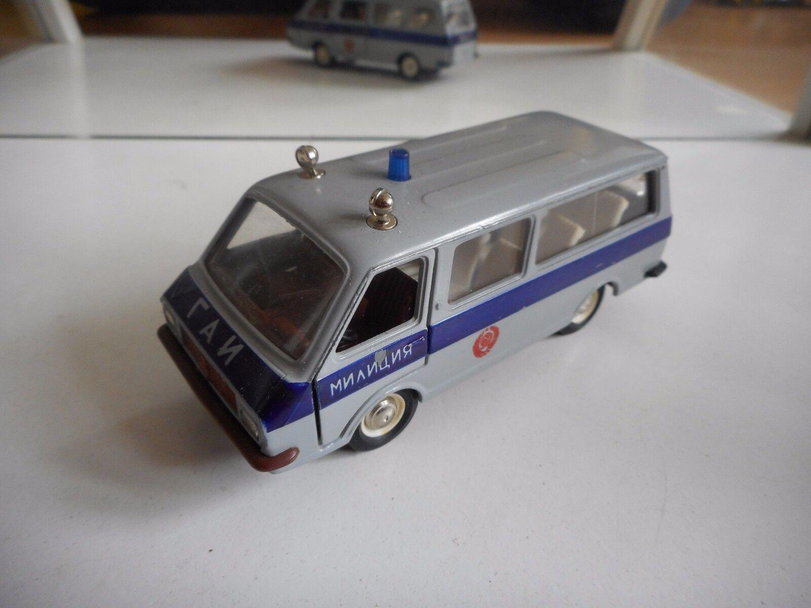 mejor calidad mejor precio USSR USSR USSR   CCCP Raf-2203 Police in Light azul on 1 43  ventas en línea de venta