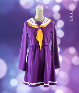 NO-GAME-NO-LIFE-Shiro-School-Uniforms-Cosplay-Costume-Dress-cosplay-clothes