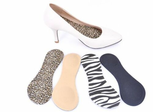 Alleviates Forefoot Pain HappyStep 3//4 Ultra-Thin Cushion High Heel Insoles