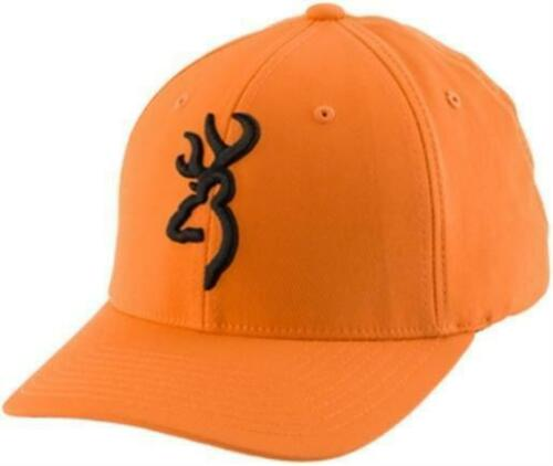 Browning 308707724 Large//X-Large Flex Fit Cap Blaze//Black