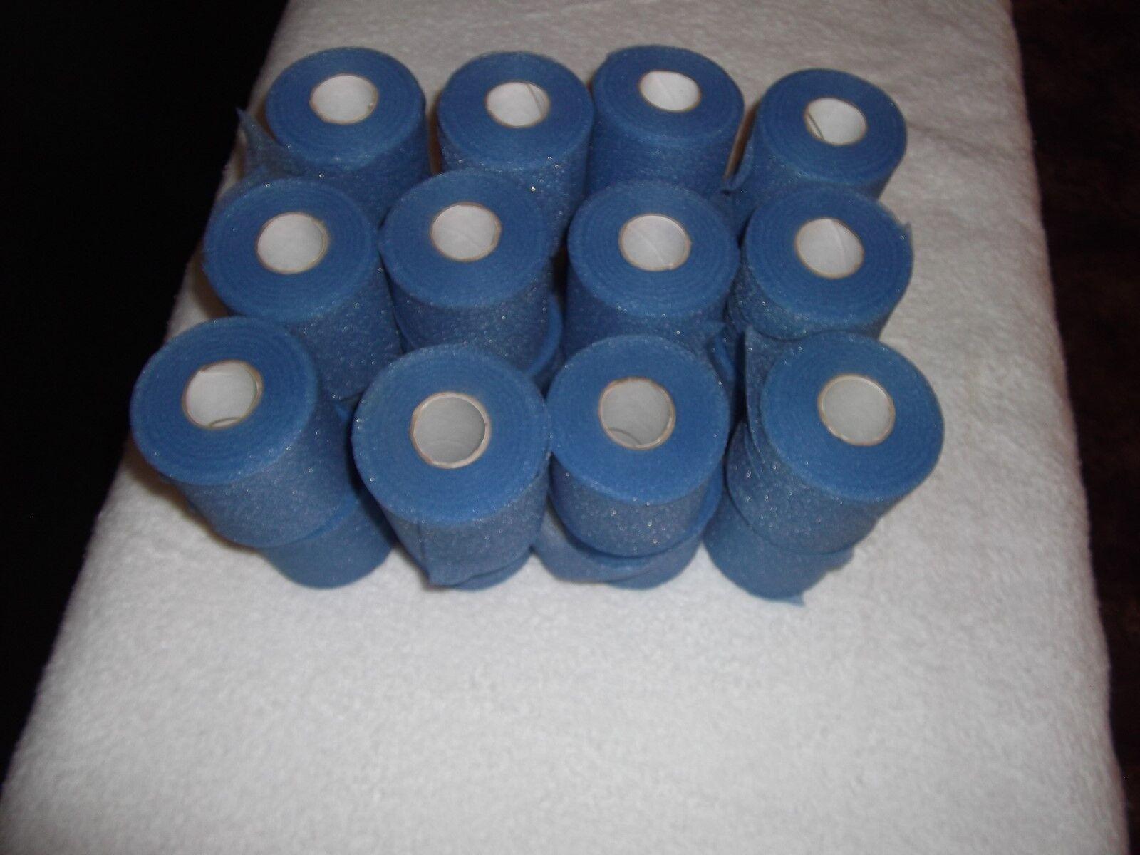 Azul Correr pre-Wrap 96 rollos de 2 34 x30yds.