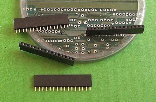 "Socket 16 vías Tira SIL Tarjeta Conector Hembra Vertical 2.54mm 0.1/"" 4771835 X 1pc"