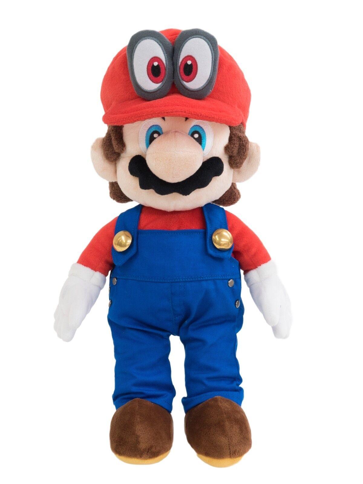Official San-ei Mario Odyssey 16 Inch Soft Stuffed Plush LB-1693