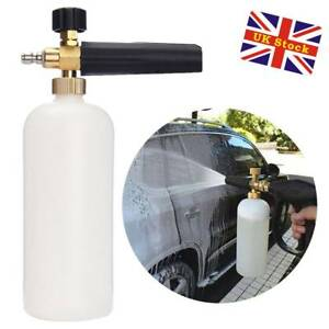 1l Pressure Washer Snow Foam Gun Car Wash Bottle Lance 659436180765