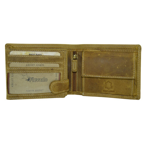 Messieurs Porte-monnaie Portefeuille RFID /& NFC bloquées Doublure