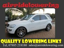 Mercedes Ml Class W164 Air Suspension Lowering Links Full Kit Shipped Free