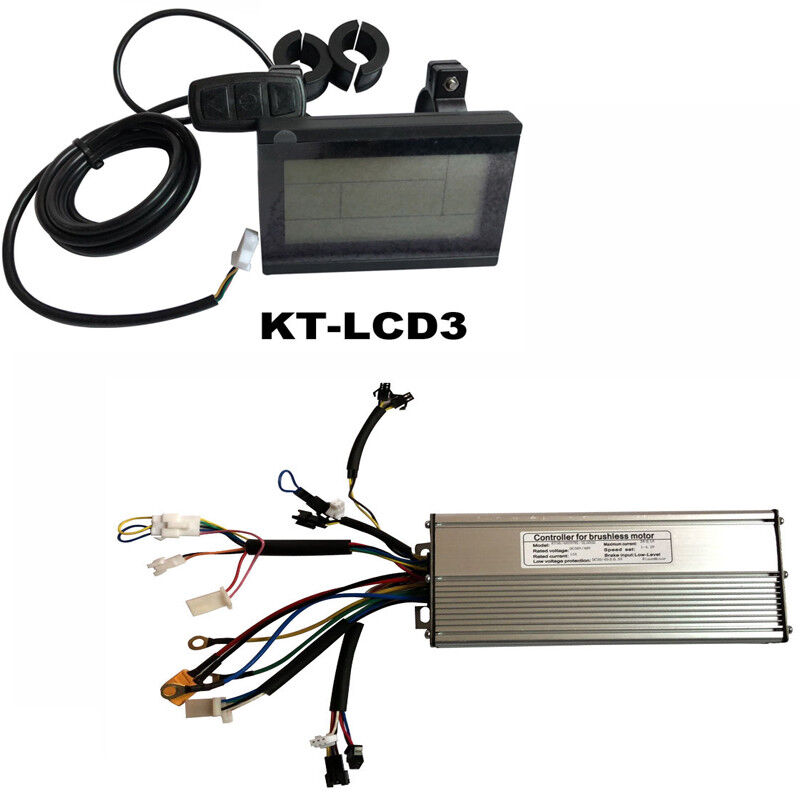 Electric bicycle KT-LCD3 display 72V  & LCD 18  Mosfet Display DC Sine Wave  save up to 30-50% off