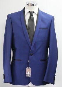 36-46.. 52114/8262 Slim Fit Blue 2pc Suit GroßE Auswahl; GüNstig Einkaufen Men's Harry Brown