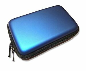 Nintendo-3DS-and-NEW-3DS-Console-Blue-Carry-Case-Protective-Bag-Pouch-UK-Seller