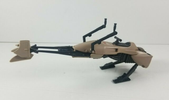 Vintage 1983 Kenner Star Wars Return of the Jedi Speeder Bike Vehicle Incomplete