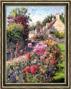 "Hand-painted Original Oil painting art impression Landscape on Canvas 24""X36"""