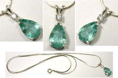 19thC Antique 2ct Siberian Emerald King Arthur Holy Grail Charlemagne Irish Gem