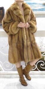 35000-Russian-Sable-Fur-SWINGER-Coat-L-XL-10-12-14-Flexible-pelts-Sweep-80-034