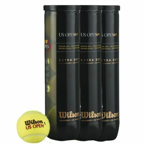 SIX DOZEN  WILSON US OPEN TENNIS BALL, BALLS  DPD 1 DAY UK DELIVERY.