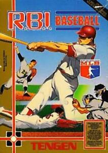 R.B.I. Baseball 1 Tengen Nintendo Nes Cleaned & Tested
