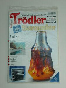 Troedler-amp-Sammler-Journal-Februar-2005-Loetz-Gemaelde-Kauflaeden-Porzellan-Meda