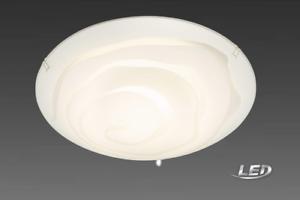 Briloner LED Deckenleuchte Deckenlampe Glaslampe Lampe Leuchte 3282-016