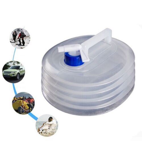 5//8//10//15L LITRE COLLAPSIBLE WATER CARRIER CONTAINER CAMPING OUTDOOR UK