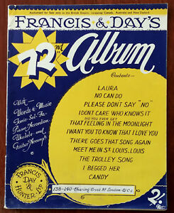 Francis-amp-Day-s-72nd-Album-No-Can-Do-The-Trolley-Song-etc-Pub-1944