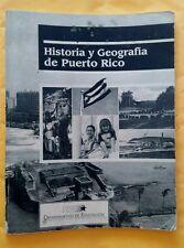 Historia y Geografia de Puerto Rico Guia del Maestro Cuarto Grado 1992