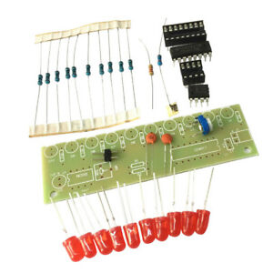 Details about NE555+CD4017 Light Water Electronic Suite DIY Kits for  Arduino Raspberry pi