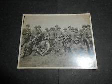 1927 FASCISMO CAPUA FOTOGRAFIA MILITARI BANDA MUSICALE ULTIMA MARCIA CASERTA