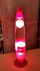 groovy light motion volcano lava lamp night light green ebay. Black Bedroom Furniture Sets. Home Design Ideas