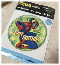 "MARVEL ULTIMATE SPIDERMAN 14/"" INFLATABLE PUNCH BALL PUNCHING BALLOON TOY NIP"
