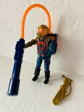 GI Joe Weapon Cesspool Chainsaw 1991 Original Figure Accessory