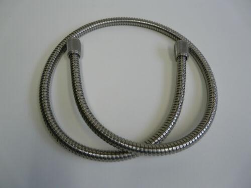 Metallbrauseschlauch Edelstahl-Optik, Duschschlauch, Brauseschlauch, Alle Längen