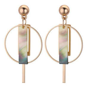 Image Is Loading Marni H Amp M Circular Ring Earrings