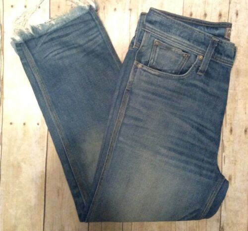 Sz Denim Nwot High Point Frayed Beskåret 30 Sur Waisted Crew Distressed Jeans J xqIFq8