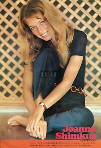 JOANNA-SHIMKUS-GIULIANO-GEMMA-1972-Japan-Picture-Clipping-8x11-6-SC-n