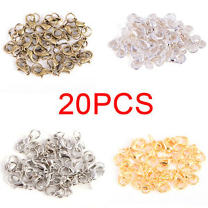 20PC-Set-Alloy-Lobster-Clasps-Claw-Jewelry-Hook-Making-DIY-Necklace-Bracelet-B-C