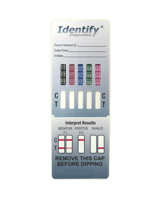 5 Pack Identify Diagnostics 5 Panel Drug Test DIP With