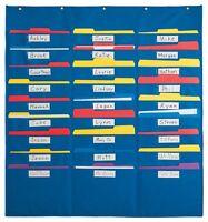 Organization Center Pocket Chart , New, Free Shipping