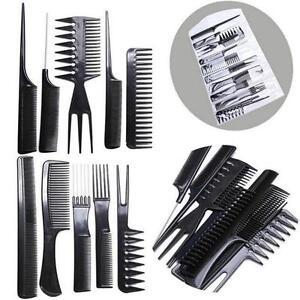 10Pcs-Hairdressing-Comb-Set-Hair-Styling-Pro-Kit-Professional-Barber-Salon-QK