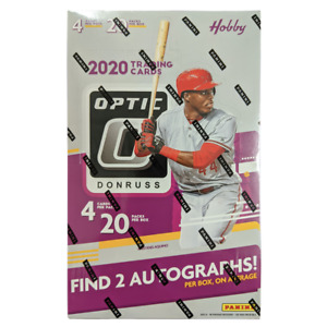 2020 MLB Donruss Optic Baseball Factory Sealed Hobby Box NEW